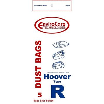 5PK, HOOVER R SPIRIT CANISTER- PAPER BAGS 112SW