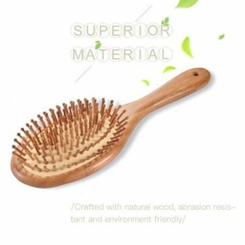 Combs-Wooden Massage Comb Scalp Massage Brush Air Cushion Combs Anti-static Brushes