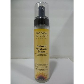 Jane Carter Solution Natural Twist Out Foam, 8 Ounce by Jane Cosmetics
