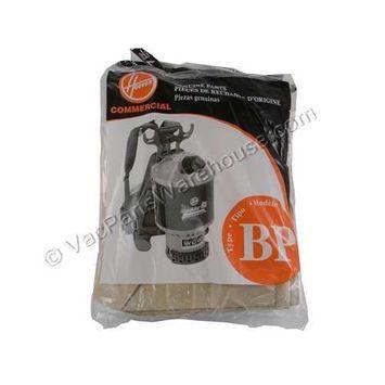 Hoover Paper Bag Pack of 7 BackPack Type C2401 Part # 401000BP