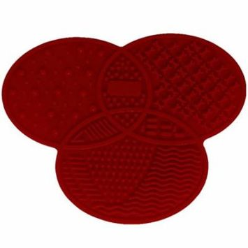 Silicone Brush Cleaner Cosmetic Make Up Washing Brush Gel Cleaning Mat Foundation Makeup Brush Cleaner Pad Scrubbe Board