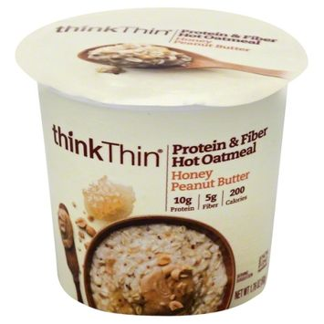 Think Products Single Serve Oatmeal Honey Peanut Butter 1.76 oz