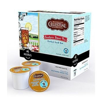 Celestial Seasonings Southern Sweet Black Iced Tea 192 K-CUPS for Keurig Brewers