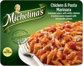 Michelina's® Chicken & Pasta Marinara Frozen Meal