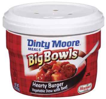 DINTY MOORE Hearty Burger Vegetable Stew W/Beef Big Bowls Meals