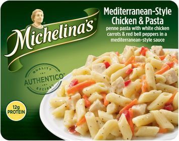 Michelina's® Mediterranean–Style Chicken & Pasta Frozen Dinner