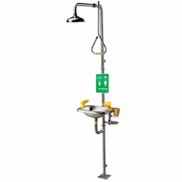 Speakman SE-623 Select Series Combination Shower with SE-400 Eye / Face Wash, 6