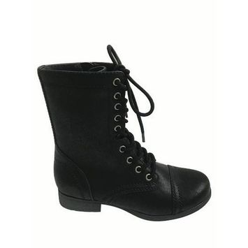 Time and Tru Women's Combat Boot