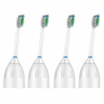 4 Pack VeniCare Replacement Brush Heads for Philips Sonicare E series Toothbrush HX7002