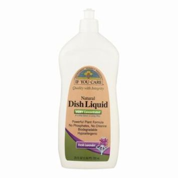 If You Care Dish Liquid - Fresh Lavender - 25 Oz - Pack of 12