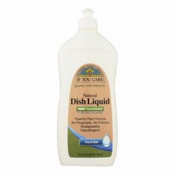 If You Care Dish Liquid - Free And Clear - 25 Oz - Pack of 12