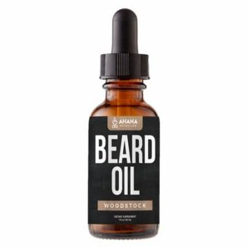 Beard Growth Oil - Woodstock Scented Drops For Promoting Facial Hair Growth
