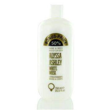 ALYSSA ASHLEY WHITE MUSK/ALYSSA ASHLEY HAND & BODY MOISTURIZER 25.5 OZ (750 ML)