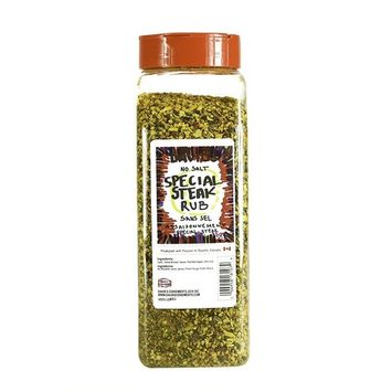 David's Special Steak Seasoning Rub SALT FREE