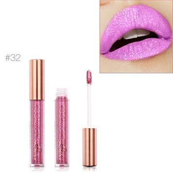 Lipstick, Hatop FOCALLURE New Fashion Lipstick Cosmetics Women Sexy Lips Metallic Lip Gloss