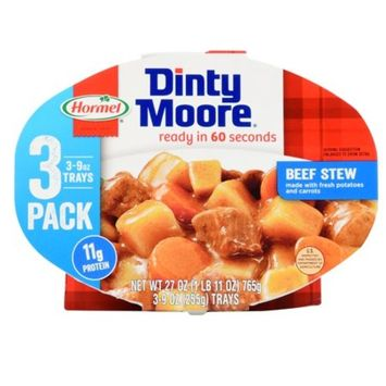 Dinty Moore Beef Stew, 3 - 9 oz trays