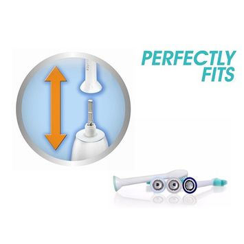 20 pcs - Philips Sonicare Healthywhite Generic Toothbrush Replacement for Proresults Easyclean Hx6750 Hx6710 Hx6530 Heads
