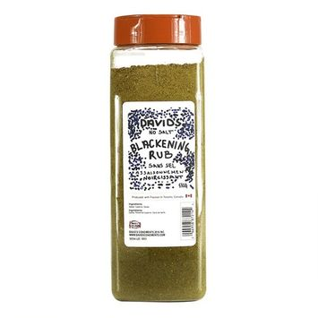 David's Blackening Seasoning Rub SALT FREE …