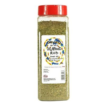 David's Seafood Seasoning Rub SALT FREE …