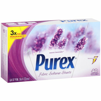 Purex Sweet Lavender Scent Fabric Softener Sheets