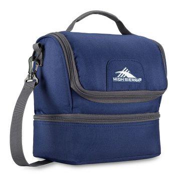 High Sierra Double-Decker Lunch Bag True Navy/Mercury - High Sierra Travel Coolers