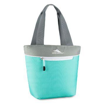 High Sierra Lunch Tote Aquamarine/Ash/White - High Sierra Travel Coolers