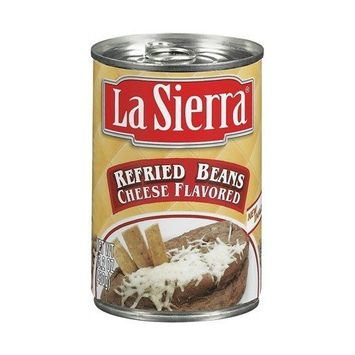 La Sierra Refried With Cheese 15 oz