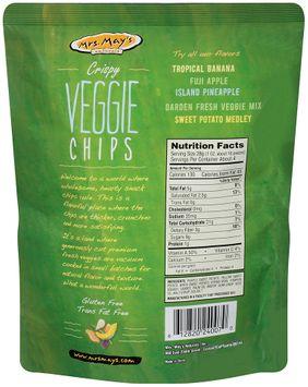 mrs May's™ Naturals Crispy Veggie Chips Garden Fresh Mix