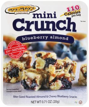 mrs May's® Naturals Mini Crunch Blueberry Almond Snacks