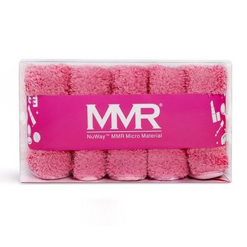 MMR - WHY PAY MORE FOR A SINGLE CLOTH? Removes makeup or mascara with warm water! Works like an eraser to gently remove makeup! Super Absorbent/Machine Washable
