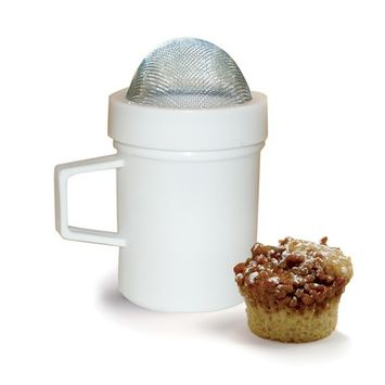 Norpro 8 Oz. White Flour And Sugar Shaker (199)