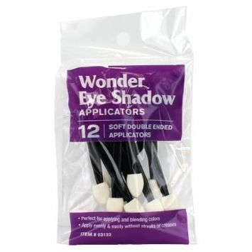 (6 Pack) Wonder Eye Shadow Soft Double Ended Applicators 12 Count