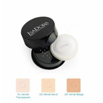 IsaDora Perfect Loose Powder 05 Velvet Beige, 18g