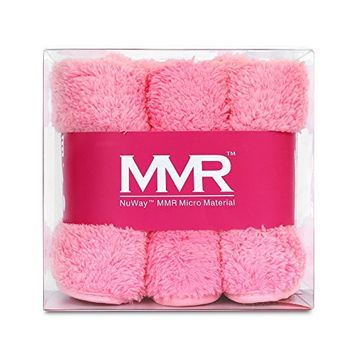 WATCH THE VIDEO! MMR - The Softest Cloth Remover! Works Like an Eraser to Gently Remove Makeup. Chemical Free! Super Absorbent! Machine Washable!