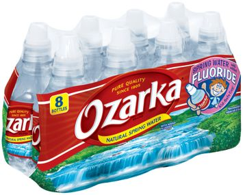 Ozarka Natural Spring Water with Added Fluoride