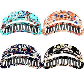 Mtlee 4 Pieces 3.7 Inches Hair Claws Large Hair Jaw Clips Non-slip Barrettes Grips for Girls and Women, 4 Colors