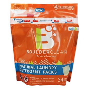 Natural Laundry Detergent Packs Valencia Orange - 34 Pack(s)