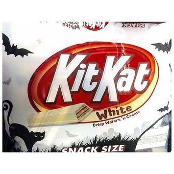Kitkat White Snack Size 10.29 Oz Hershey's Kitkat Fun Size Pack of 2