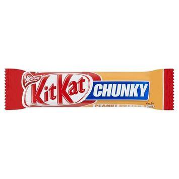 KitKat Chunky Peanut Butter - 42g - Pack of 6 (42g x 6 Bars)