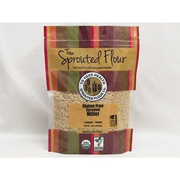 5lb. Organic, Sprouted Millet