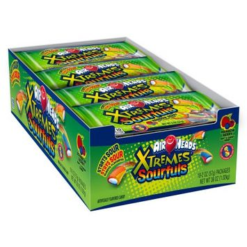 Airheads Xtremes Sourfuls Candy, 2 Ounce (Pack of 18)