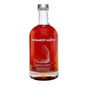 Runamok Maple, Sugarmaker's Cut, Organic Vermont Maple Syrup, Grade A, Amber Color, Rich Taste, 25.36 Ounce, 750mL [Sugarmaker's Cut]