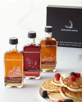 Runamok Maple Infused Barrel-Aged Organic Maple Syrups