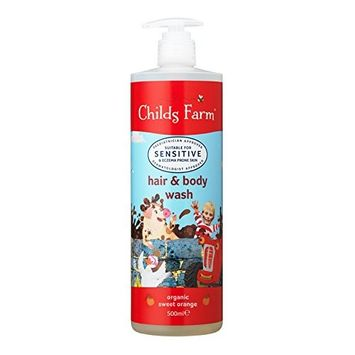 Childs Farm Organic Sweet Orange Hair and Body Wash 500 ml by Childs Farm