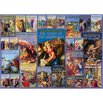 Outset Media Vintage Nancy Drew 1000 Piece Puzzle