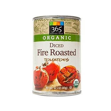 365 Diced Fire Roasted Tomatoes 14.5 oz (1 Can)