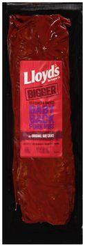 Lloyd's® Barbeque co Seasoned & Smoked Babyback Pork Ribs in Original BBQ Sauce
