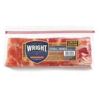 Wright Double Smoked Bacon - 24oz