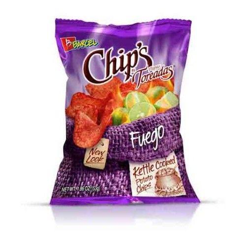 Barcel Chip's Toreadas Fuego 1.9oz (14 bags)