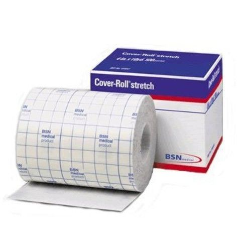 """Cover-Roll Stretch 2"""" x 10 Yards Non-Woven Adhesive Bandage - 12 Pack"""